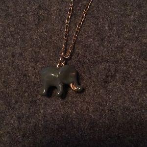 NWOT J. Crew elephant necklace